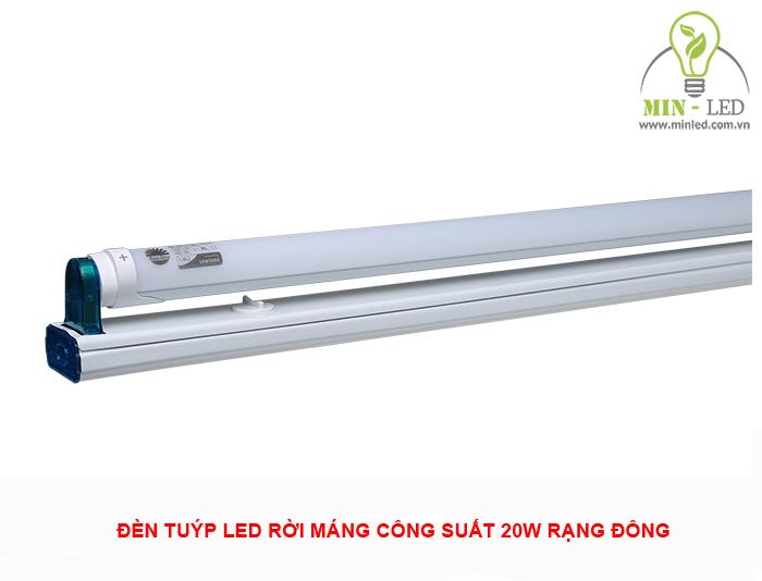 Đèn tuýp LED rời máng Rạng Đông công suất nhỏ hơn đèn tuýp liền máng