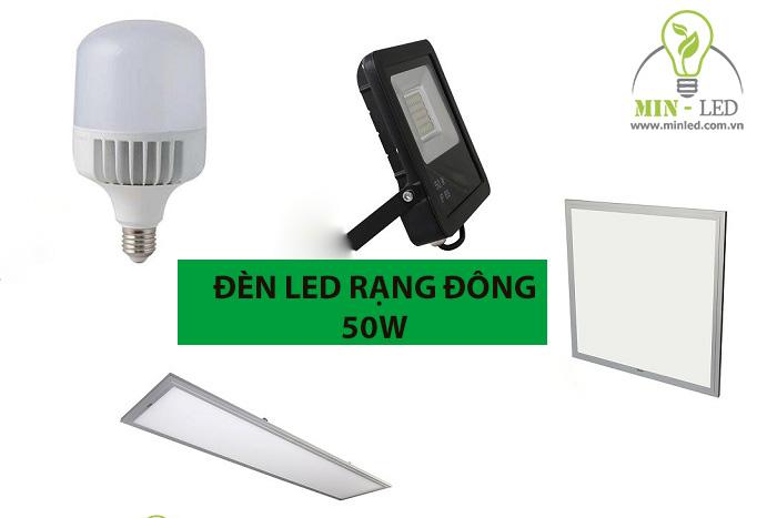 Tìm hiểu chi tiết các mẫu đèn LED Rạng Đông 50W -1