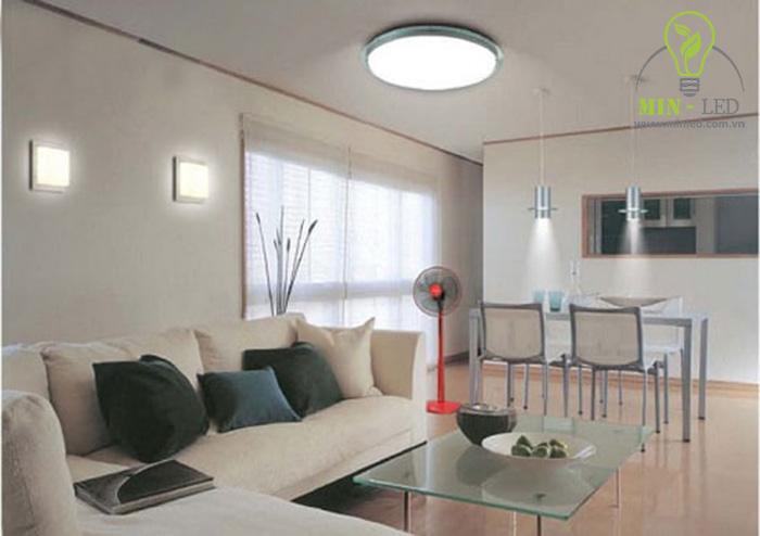 Đèn LED ốp trần chiếu sáng chân thực lan tỏa đều khắp không gian -1