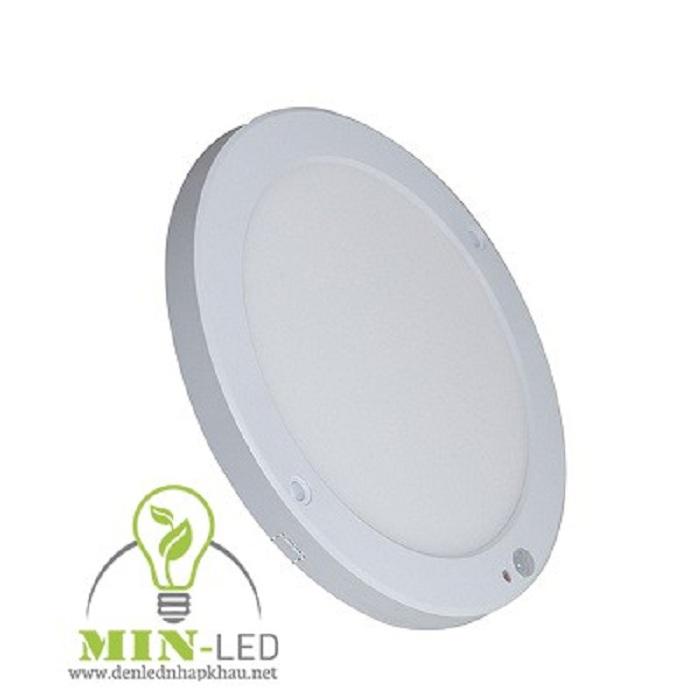 Đèn LED ốp trần mỏng tròn có cảm biến thông minh -1