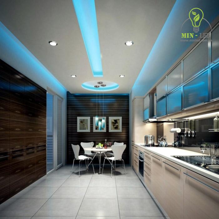Đèn LED ốp trần đa dạng mẫu mã ứng dụng nhiều không gian -1
