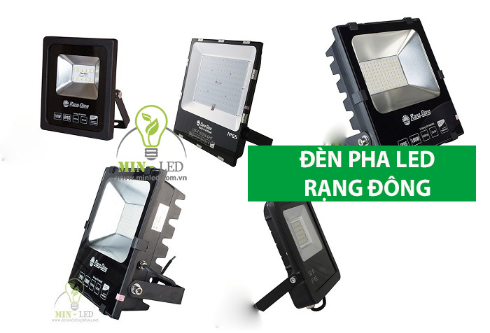 Giới thiệu các mẫu đèn pha LED Rạng Đông-1