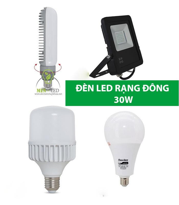 Các mẫu đèn LED Rạng Đông 30W nổi bật -1