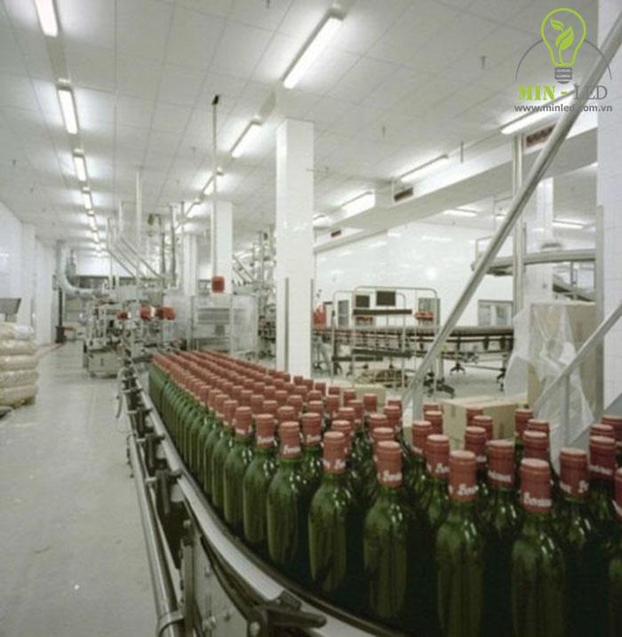 Với tính năng chống ẩm đèn LED tuýp Rạng Đông vẫn hoạt động bền bỉ trong môi trường sản xuất -1