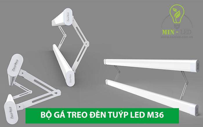 Bộ gá cho sản phẩm đèn tuýp LED M36L tăng thêm chức năng sử dụng -1
