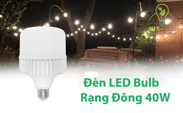 Đèn LED Bulb Rạng Đông chiếu sáng tại nhiều không gian -1