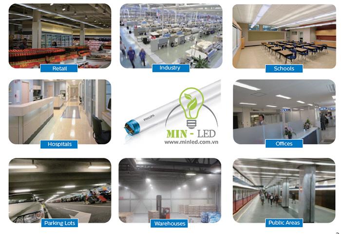 Ứng dụng đèn LED Philips sử dụng tại nhiều không gian - 1