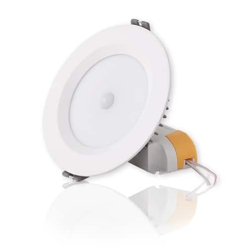 Đèn LED âm trần cảm biến Rạng Đông 9W D AT04L 110/9W PIR
