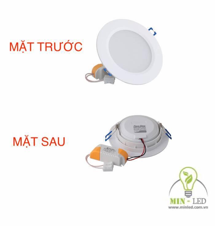 Đèn LED âm trần đế nhựa Rạng Đông