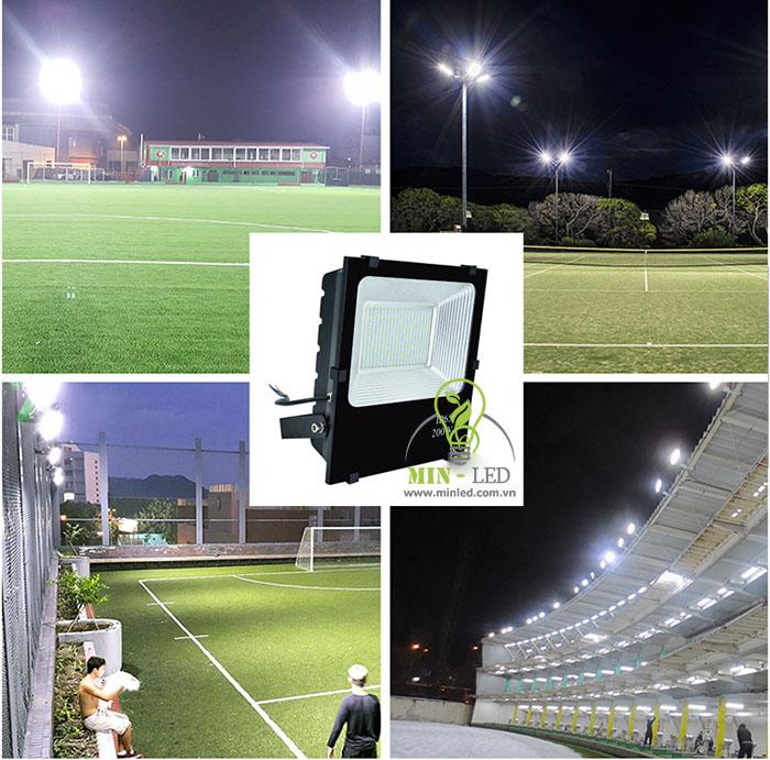 Đèn pha LED Rạng Đông ứng dụng trong các công trình thể thao-1