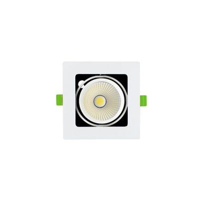 Đèn LED âm trần Spotlight KingLED đơn 10W GL-110-V