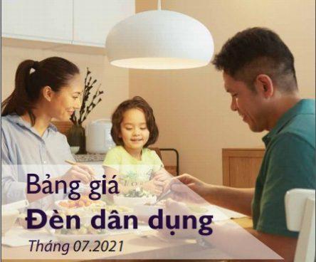Catalogues đèn LED Philips T7.2021 chiếu sáng dân dụng mới nhất