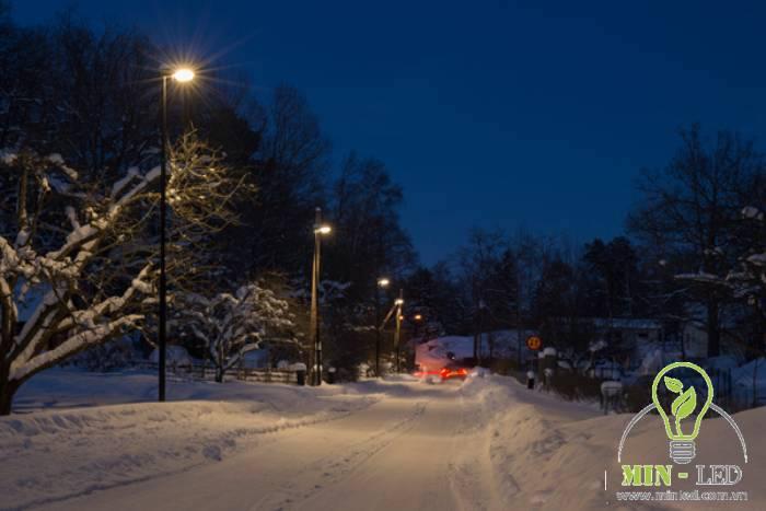 Ứng dụng đèn đường LED Philips