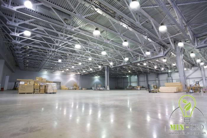 Ứng dụng của đèn LED nhà xưởng Rạng Đông