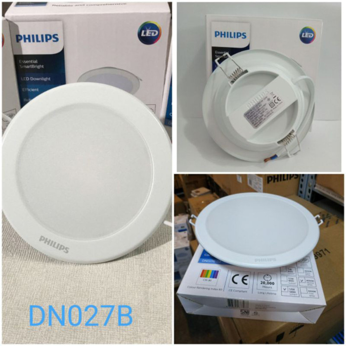Kích thước đường kính khoét trần đèn LED âm trần Philips, Panasonic