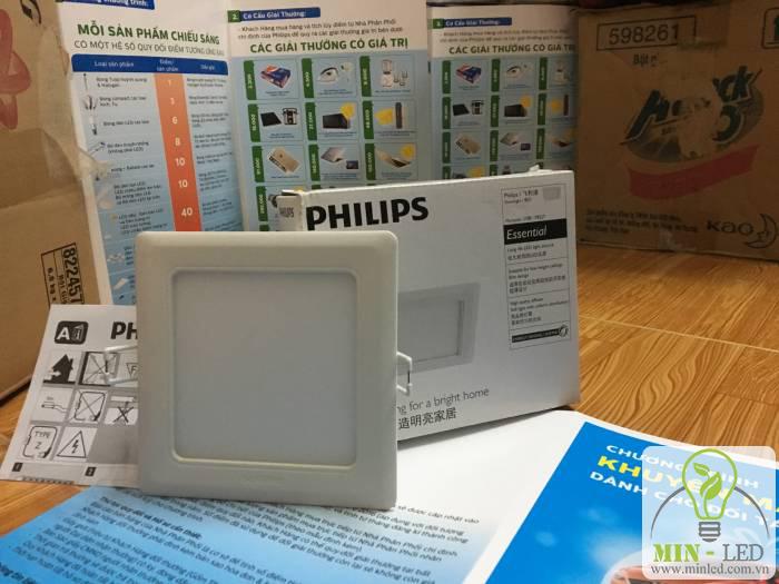 Ưu điểm của đèn LED âm trần vuông Philips