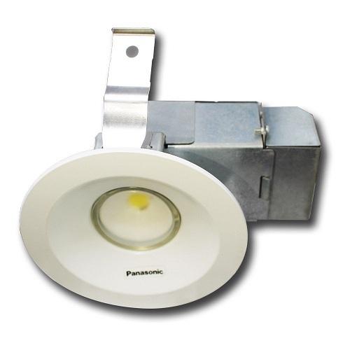 Đèn LED âm trần Panasonic 5.5W tròn góc chiếu thường ONE-CORE