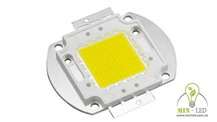 Loại chip LED 100w được chia thành nhiều dòng với điện áp, cấu tạo và màu sắc khác nhau