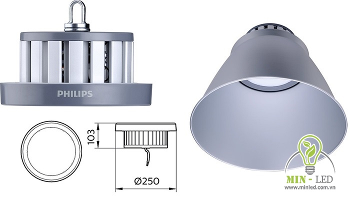 chip led 100w philips