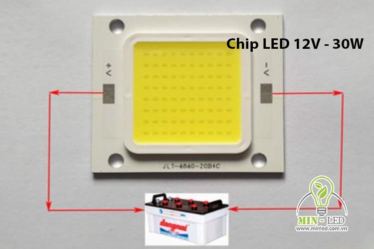 Chip LED 30W 12V