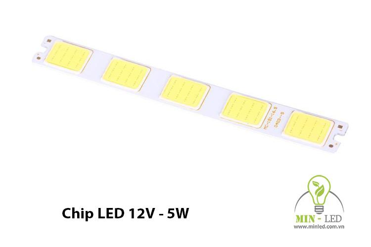 Chip LED 5W 12V