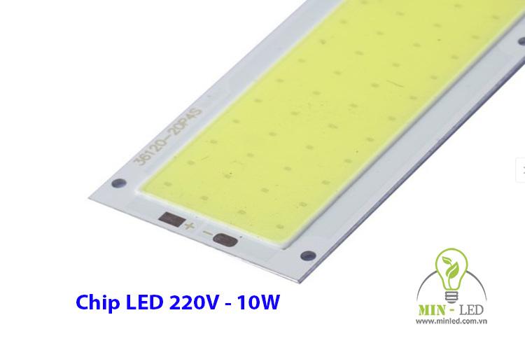 Chip LED 10W 220V