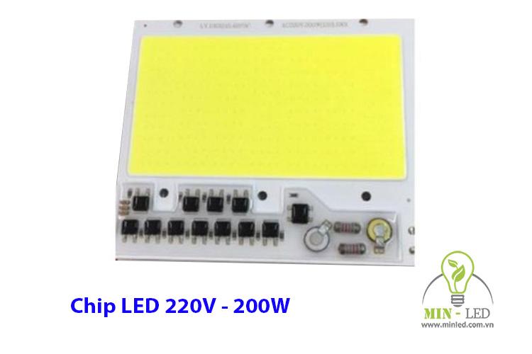 Chip LED 200W 220V