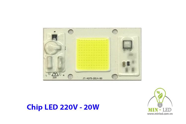 Chip LED 20W 220V