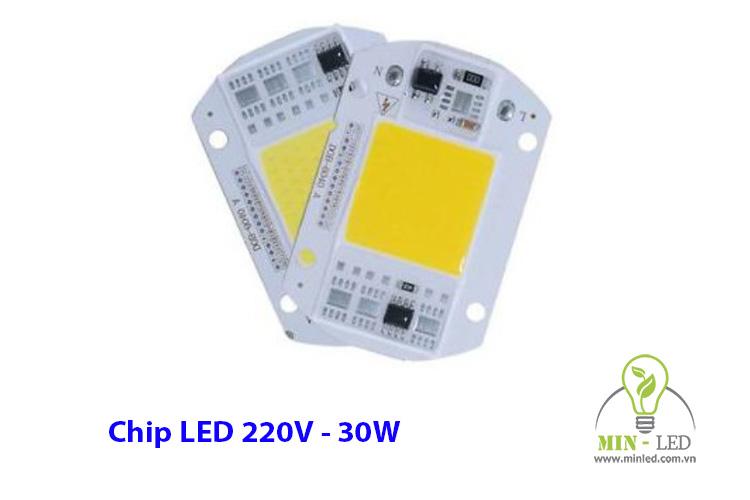 Chip LED 30W 220V