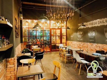 Top mẫu đèn chùm trang trí quán cafe Đẹp – Sang – Giá tốt