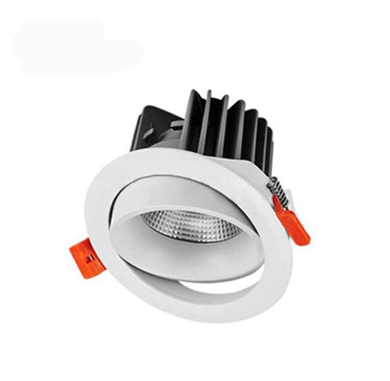 Đèn LED âm trần chỉnh góc có thể chỉnh được hướng ánh sáng linh hoạt