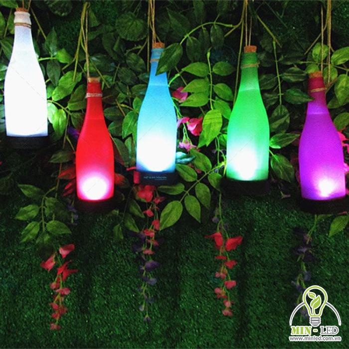 Đèn LED dây trang trí ngoài trời chai rượu