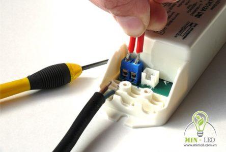 Cách đấu đèn LED thanh nhôm và mắt cảm biến đúng kỹ thuật