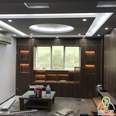 Cung cấp đèn LED và thiết bị điện cho căn hộ chung cư N09B2 Dịch Vọng