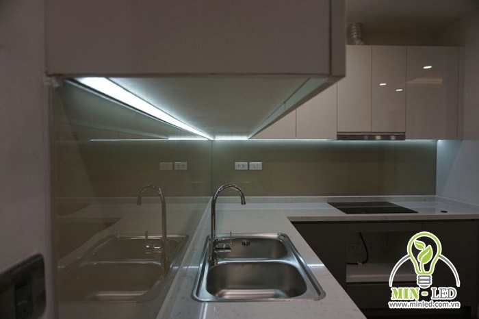 LED thanh nhôm là lựa chọn phù hợp nhất để chiếu sáng tủ bếp