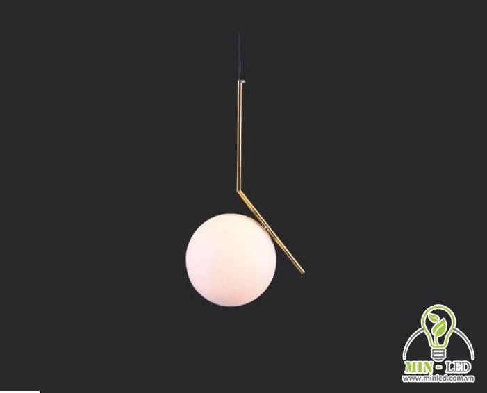 đèn thả trần quán cafe phong cách hiện đại 1
