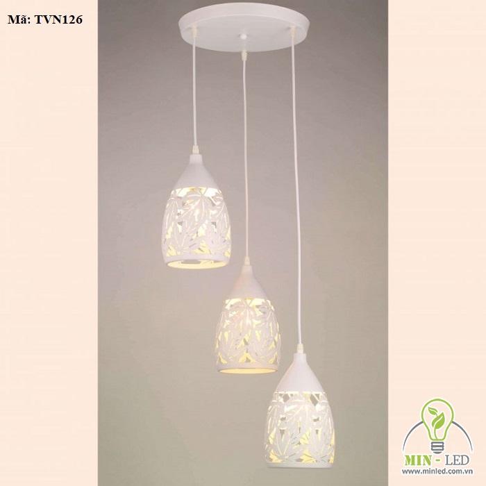 đèn thả trần quán cafe phong cách hiện đại 10