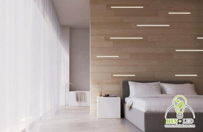 Kích thước LED thanh nhôm 30cm phù hợp với nhiều không gian