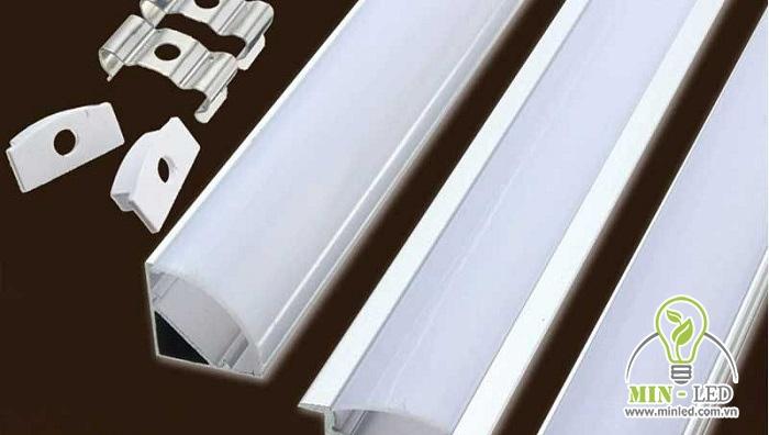 thanh nhôm đèn LED 12v