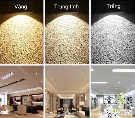 14 mẫu đèn tuýp LED 3 màu cao cấp cùng bảng giá chi tiết