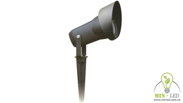 Đèn LED Duhal APY224 thuộc loại đèn chiếu điểm cắm cỏ cho không gian ngoài trời.