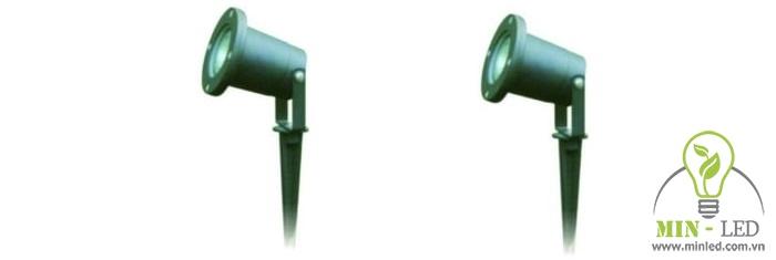 Mẫu đèn chiếu điểm ngoài trời Duhal ABY-201 có công suất 5W.