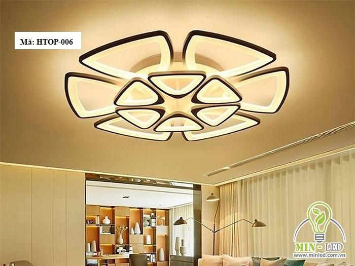đèn led ốp trần trang trí phòng khách