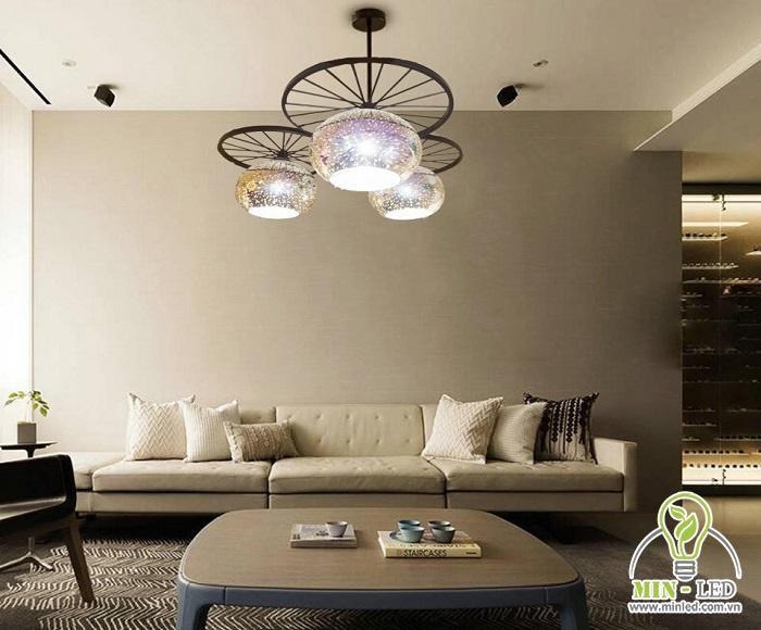 đèn trần led phòng khách
