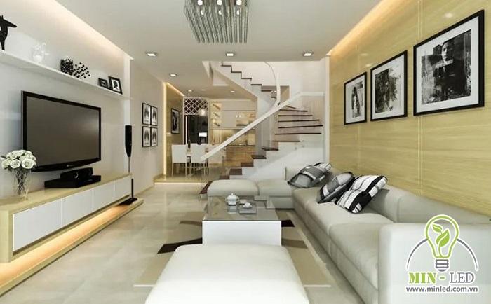 Sản phẩm được ứng dụng để chiếu sáng cho phòng khách, phòng ngủ... của nhà ở dân dụng