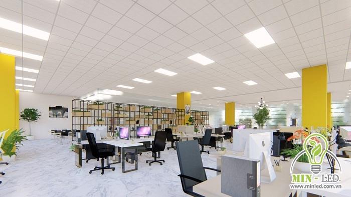 tiêu chuẩn chiếu sáng văn phòng