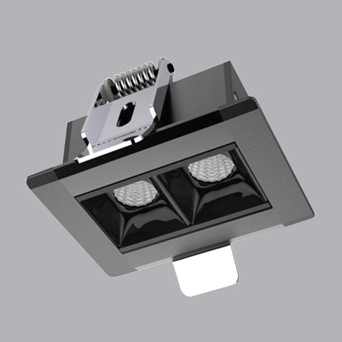 Đèn LED âm trần 4W MPE RLS-02