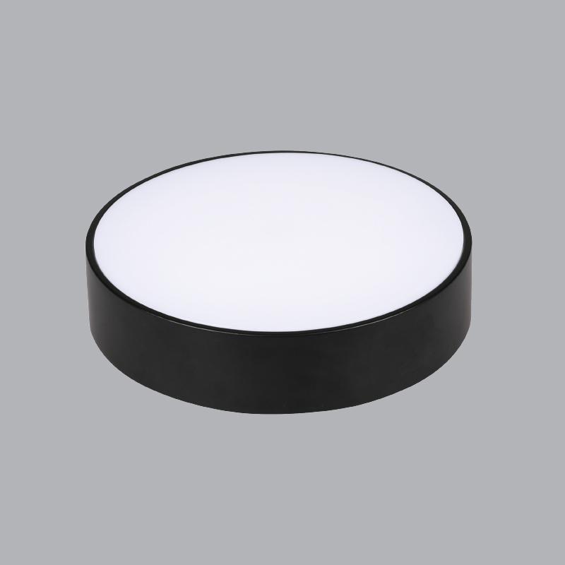 Đèn LED ốp trần gắn nổi tràn viền MPE 24W tròn 1 màu SRDL-24-T-N-V