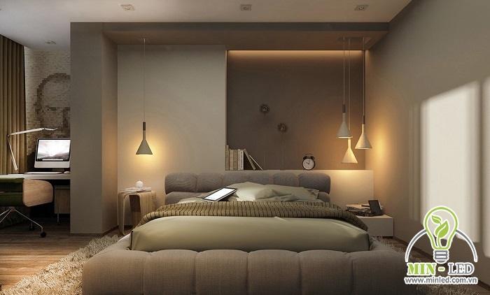 Cần thiết kế khoảng cách giữa các bóng đèn sao cho cân đối để ánh sáng lan tỏa đồng đều nhất.