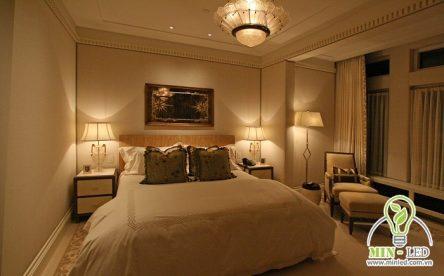 Cách bố trí đèn phòng ngủ chiếu sáng hợp lý từ chuyên gia